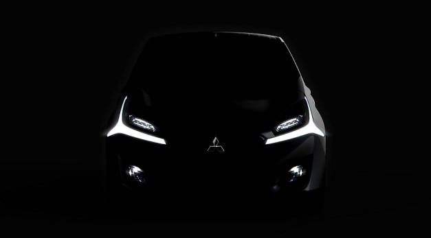 Mitsubishi teases Concept GR-HEV, a diesel Sport Utility Hybrid Truck