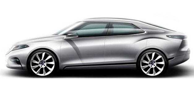 2013 Saab 9-3 Rendering Concept