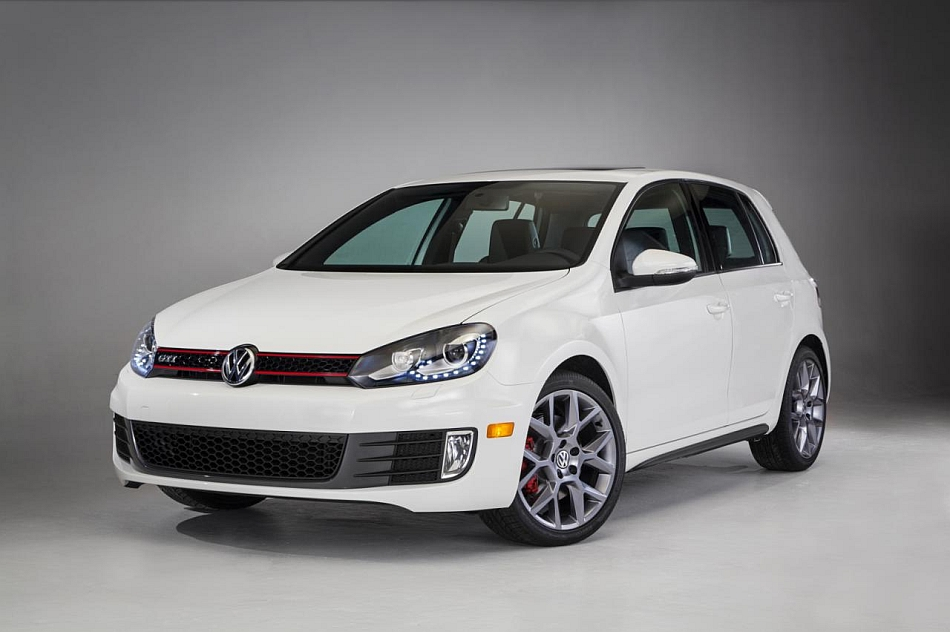 2013 Volkswagen Golf GTI Special Editions Chicago Auto Show