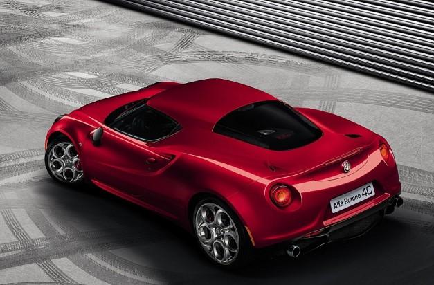 2014 Alfa Romeo 4C Rear