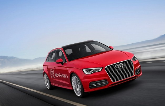Audi reveals A3 e-tron Concept ahead of 2013 Geneva debut, capable of 80 mph on all electric power