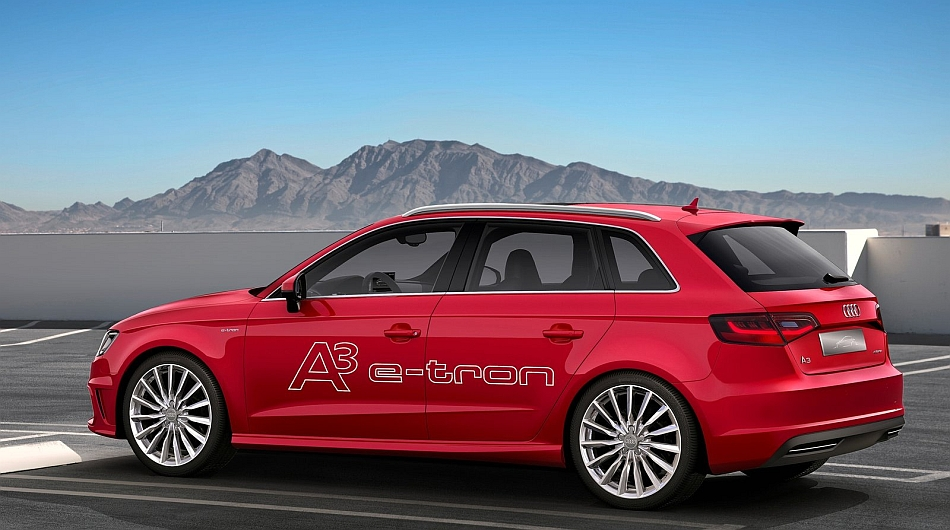 2014 Audi A3 e-tron Concept Rear 7-8 Left