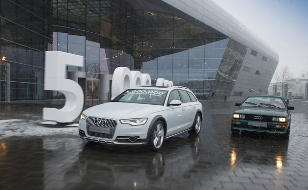 Audi celebrates building 5 millionth vehicle w/ Quattro AWD, 33 years after its original conceptual debut
