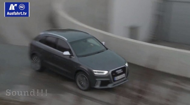 Exclusive Video: This is most likely what the 2014 Audi RS Q3 sounds like