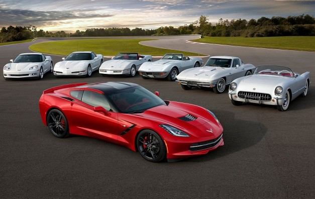 2014 Chevrolet Corvette Stingray C7 Family Heritage