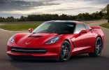 2014 Chevrolet Corvette Stingray C7 Front 3-4 Left Track