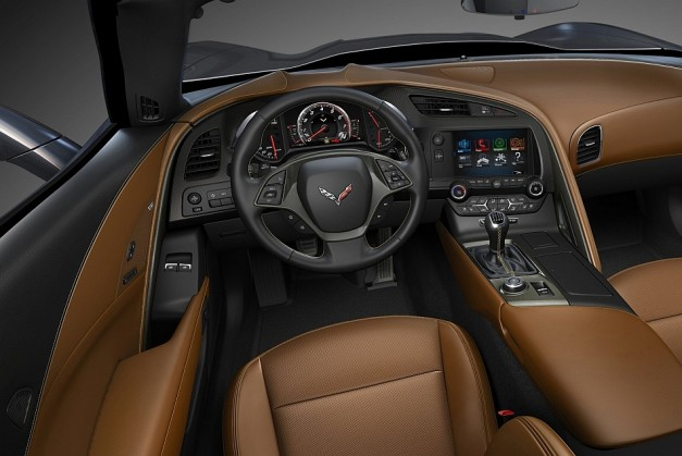 2014 Chevrolet Corvette Stingray C7 Interior Bronze
