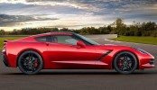 2014 Chevrolet Corvette Stingray C7 Right Side Track