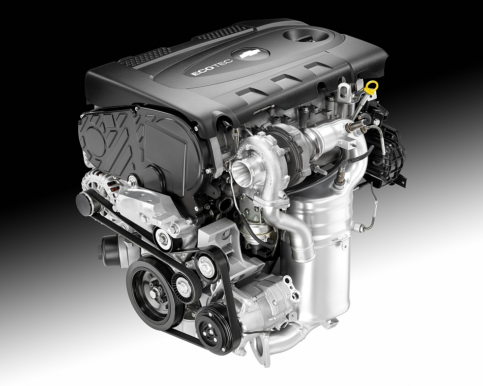 2014 Chevrolet Cruze Clean Turbo Diesel Engine - egmCarTech