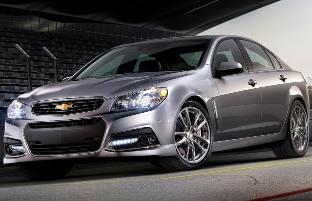 BREAKING: Chevrolet unveils 2014 SS sedan, their first RWD performance