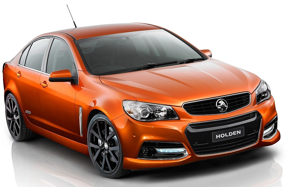 2014 Holden VF Commodore SS V Show Car Front 3-4 Right Studio
