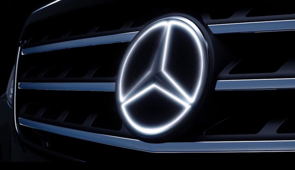2014 Mercedes-Benz Illuminated Star Grille
