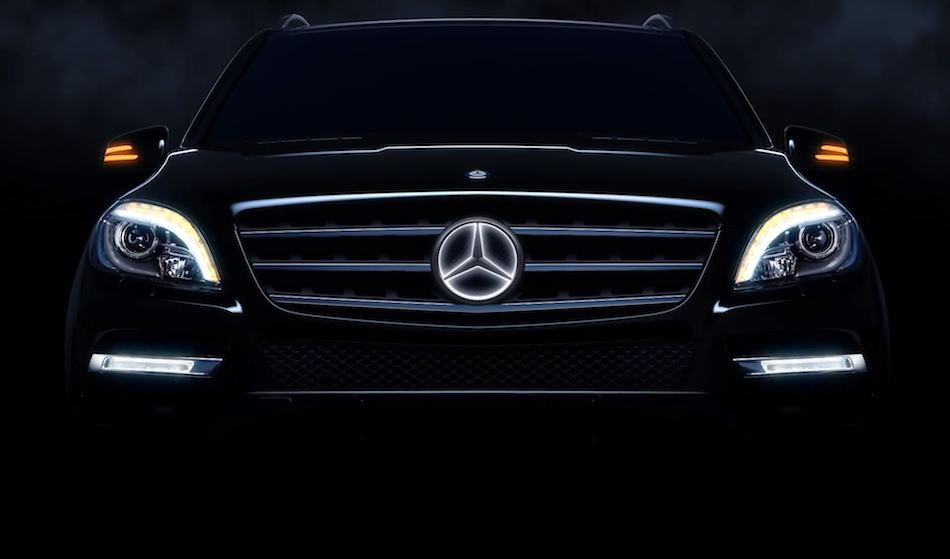 2014 mercedes benz illuminated star egmcartech for Mercedes benz led star