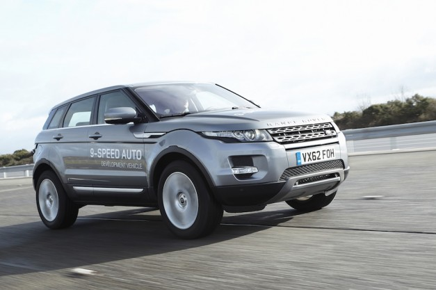 Land Rover to introduce world's first nine-speed auto in Range Rover Evoque, built by ZF
