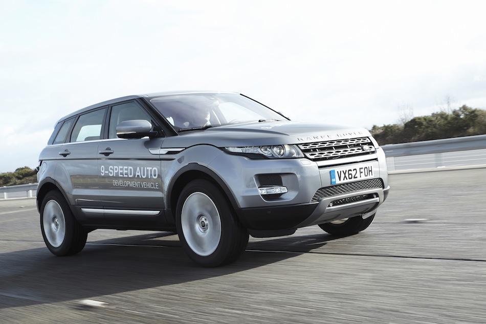 2014 Range Rover Evoque 9-Speed Auto