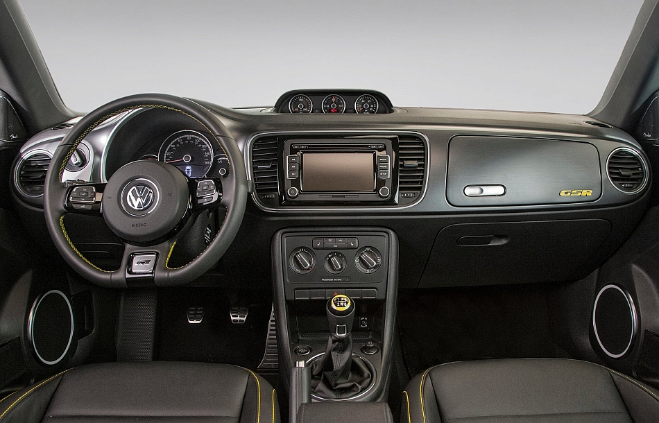 2014 volkswagen beetle gsr front interior egmcartech for New beetle interieur