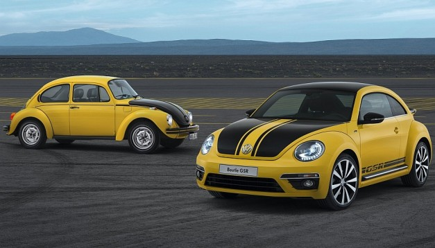 2013 Chicago: 2014 Volkswagen Beetle R-Line Convertible joins lineup, Beetle GSR harks to original 1970s compact