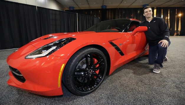 Ravens QB Joe Flacco awarded 2014 Chevy Corvette after winning MVP