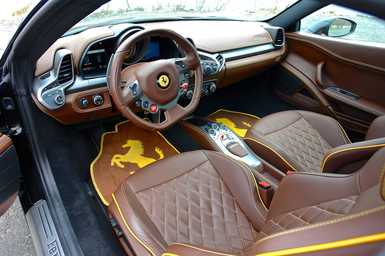 2010 Ferrari 458 Review Driver Seat Interior