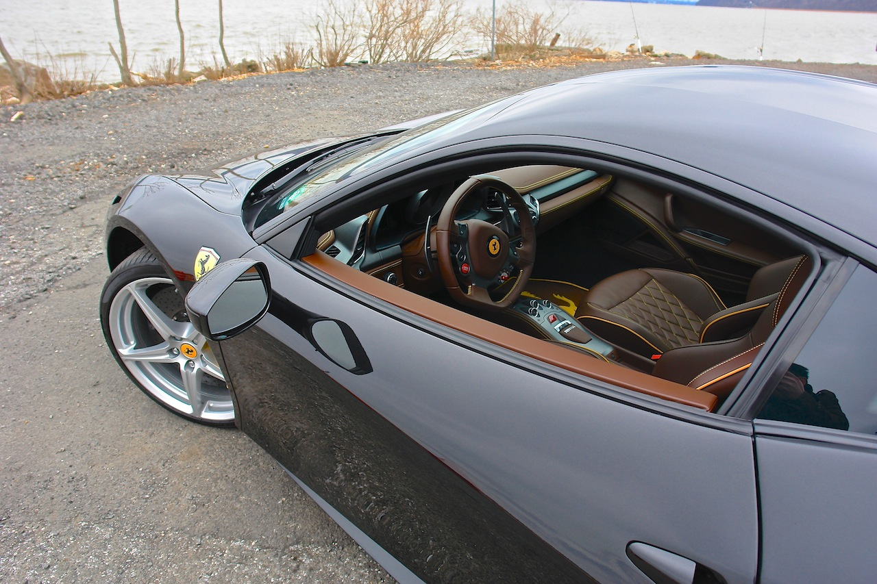 2010 Ferrari 458 Review Driver Side