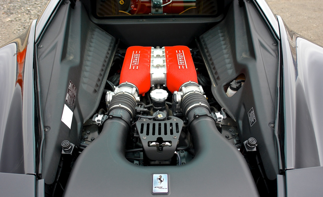 2010 Ferrari 458 Review Engine