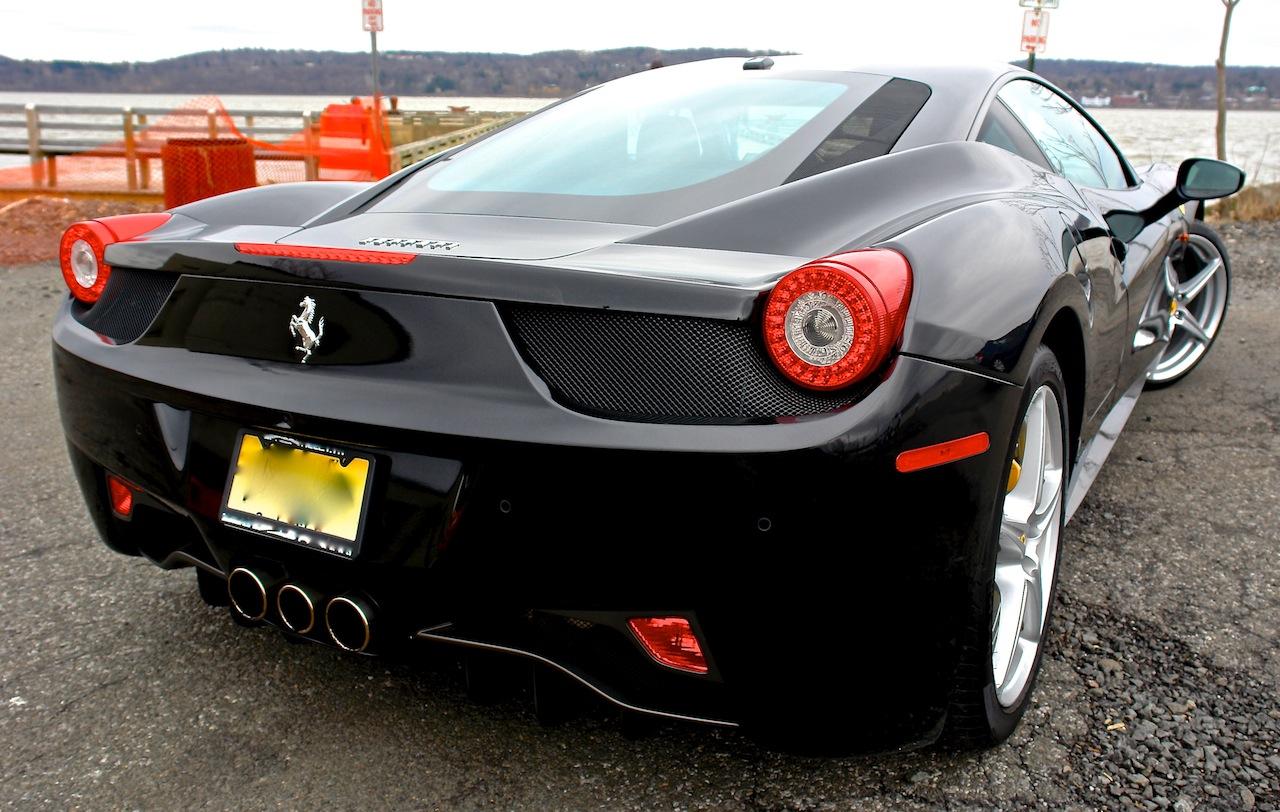 2010 Ferrari 458 Review Rear Close Up