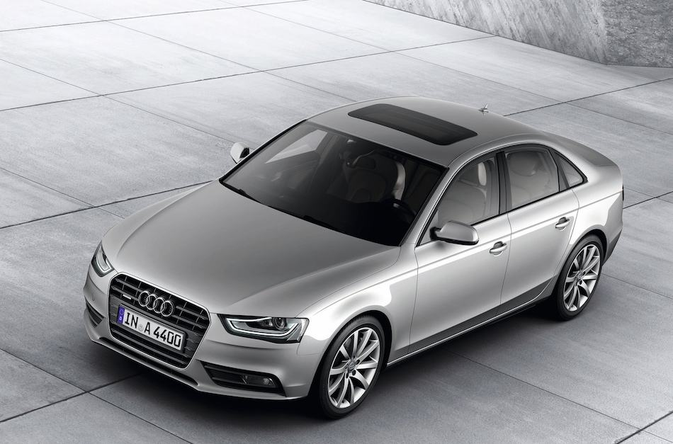 2013 Audi A4 Front 7-8 Left High Angle