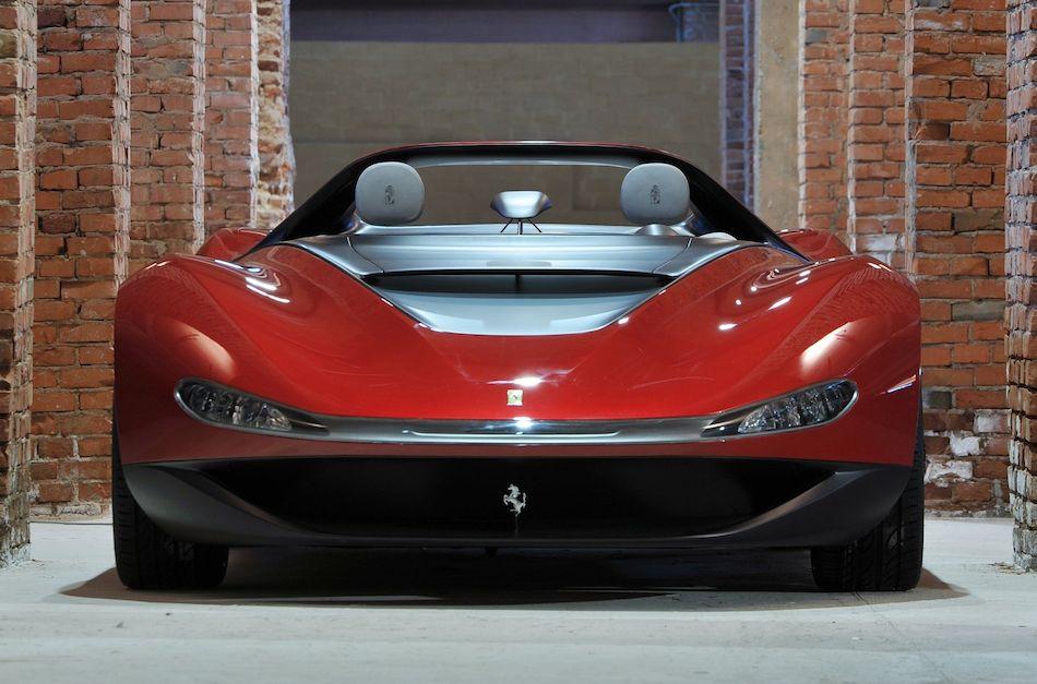 2013 Ferrari Sergio Concept Front Egmcartech