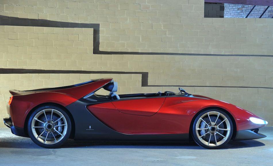 2013 Ferrari Sergio Concept Right Side Egmcartech