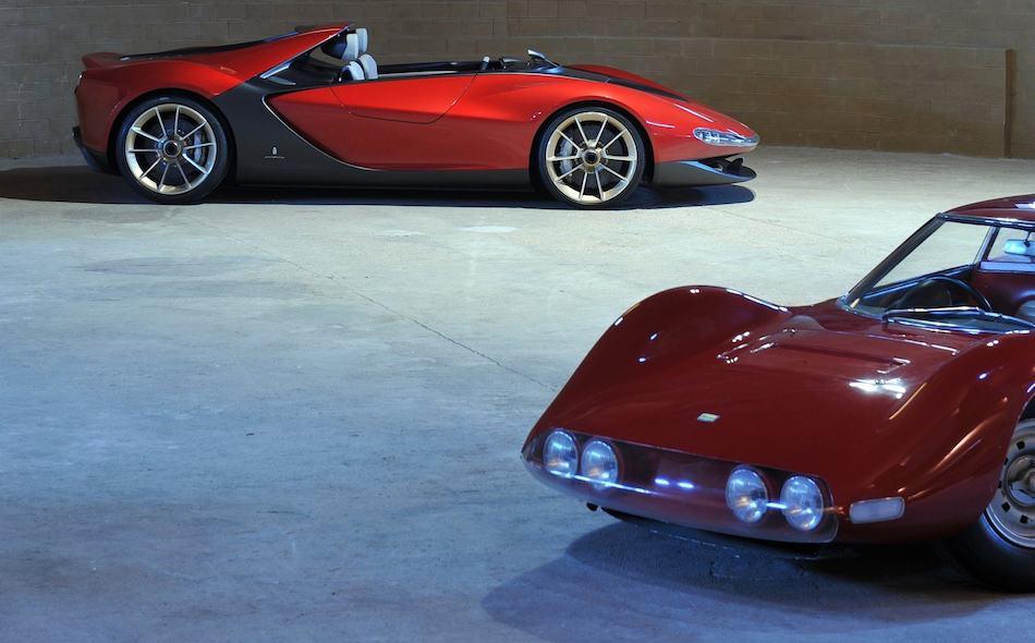 2013 Ferrari Sergio Concept W 1965 Dino Berlinetta Speciale