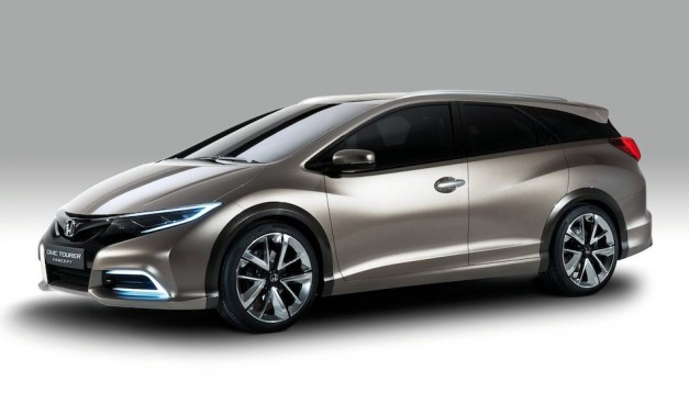 2013 Geneva: Honda debuts Civic Tourer Concept, production model to debut at Frankfurt in Sept. w/ video
