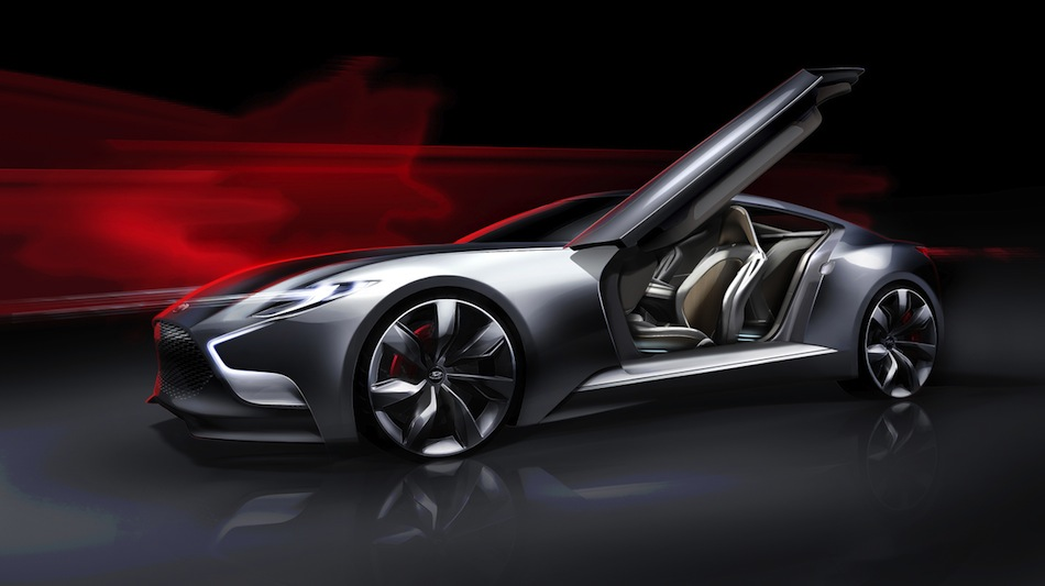 2013 Hyundai HND-9 Concept Rendering