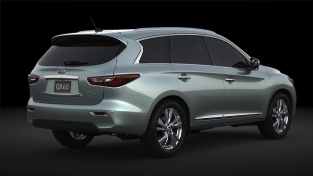 Infiniti confirms new JX35/QX60 hybrid variant to debut in New York