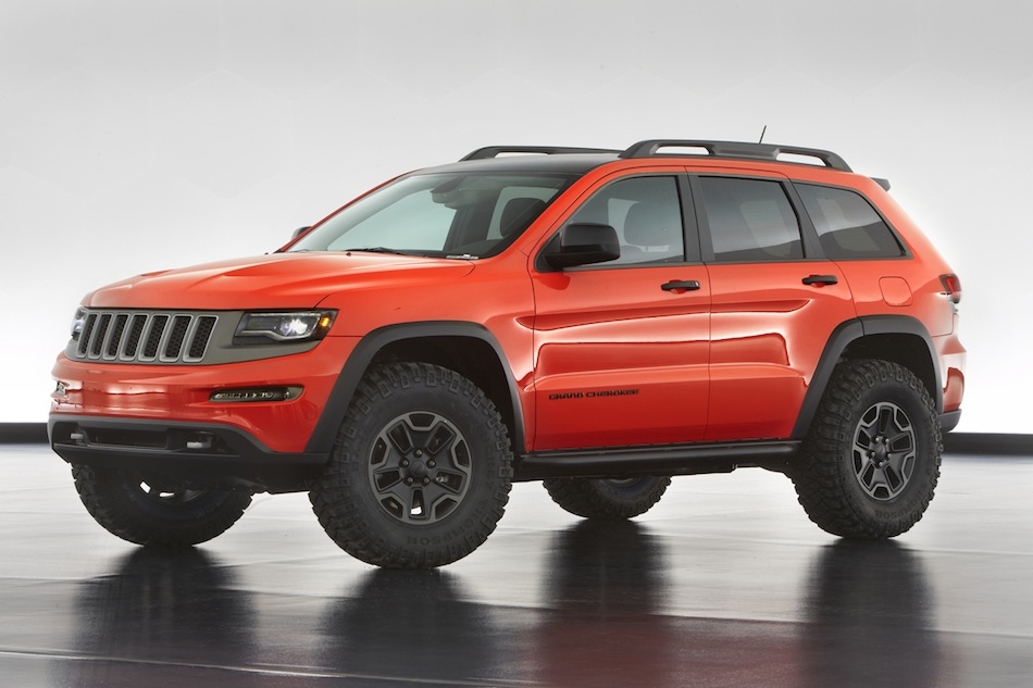 2013 Jeep Grand Cherokee Trailhawk Concept