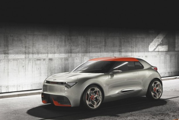 2013 Geneva: Kia's Provo Concept provides a look into a potential future hot hybrid hatch