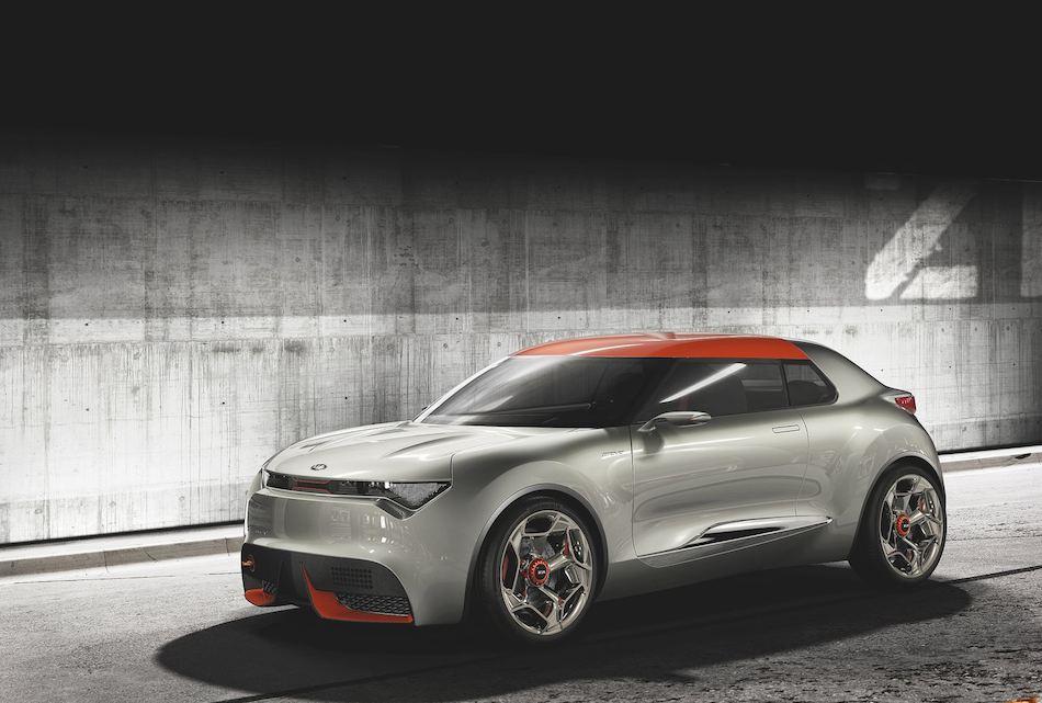 2013 Kia Provo Concept Front 7-8 Left
