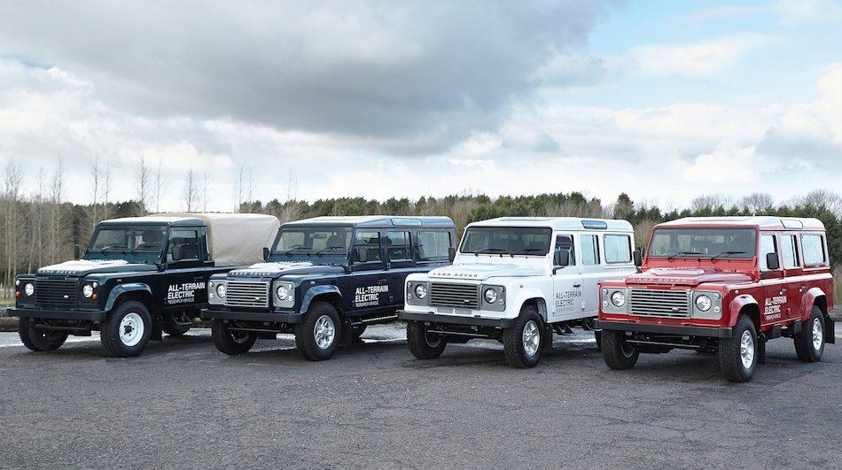 2013 Land Rover Defender Electric Concept Partial Fleet