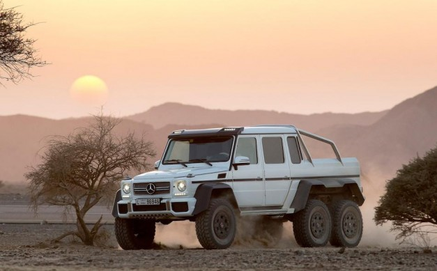 Report: Mercedes-Benz could be preparing 4×4 version of G63 AMG 6×6