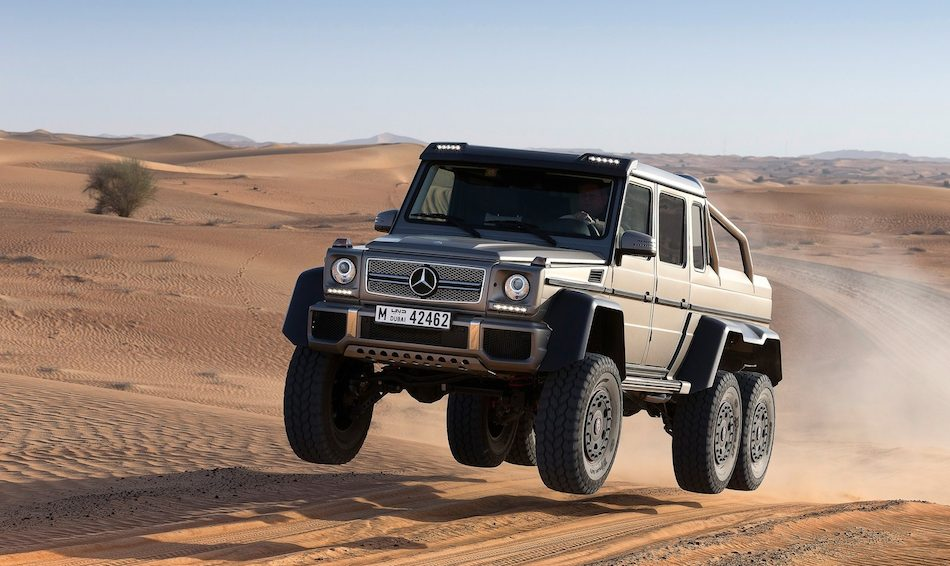 2013 Mercedes-Benz G63 AMG 6x6 Catching Air