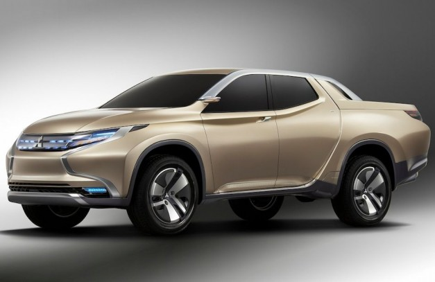 2013 Geneva: Mitsubishi's GR-HEV Concept is a diesel hybrid pickup truck for emerging markets