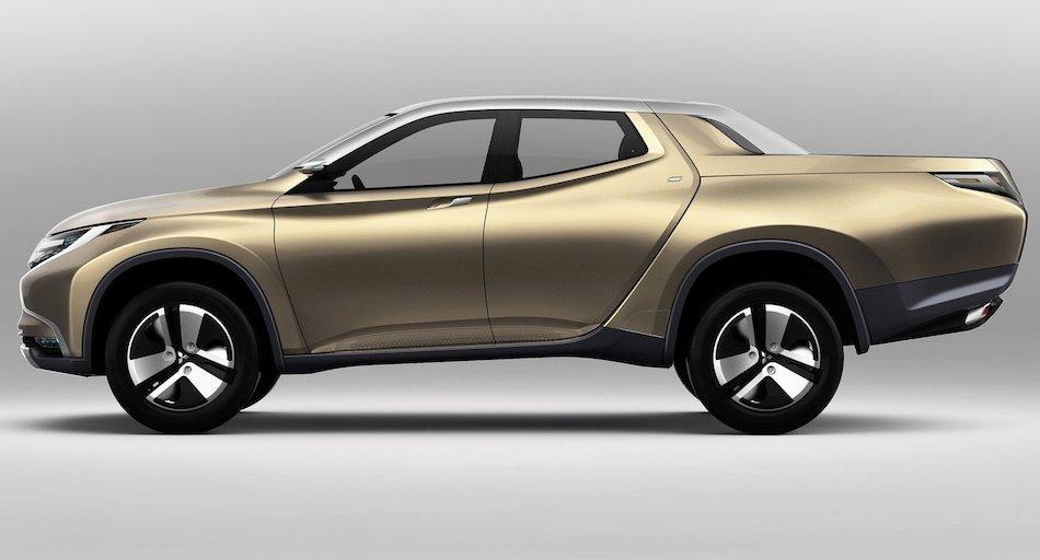 2013 Mitsubishi Gr Hev Concept Left Side Egmcartech