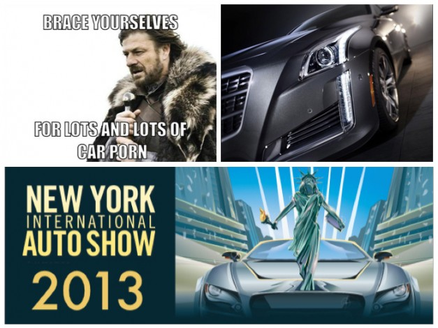 2013 New York: Brace yourselves, the 2013 New York International Auto Show is just about here