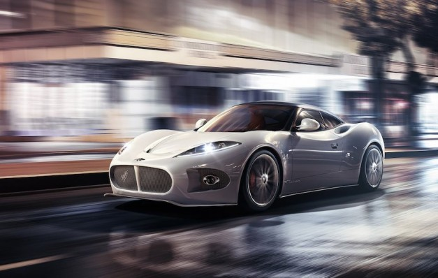 2013 Geneva: Spyker shows off its potential new sports coupe concept, the 2013 B6 Venator Concept