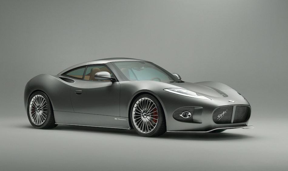 2013 Spyker B6 Venator Concept Front 7-8 Right Studio