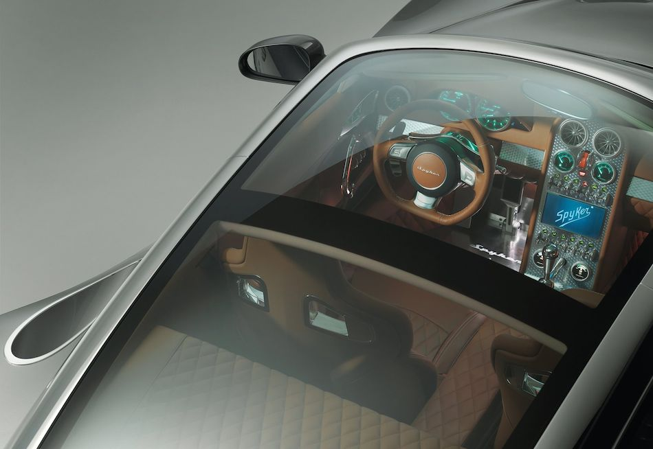Charming 2013 Spyker B6 Venator Concept High Angle Panoramic Roof