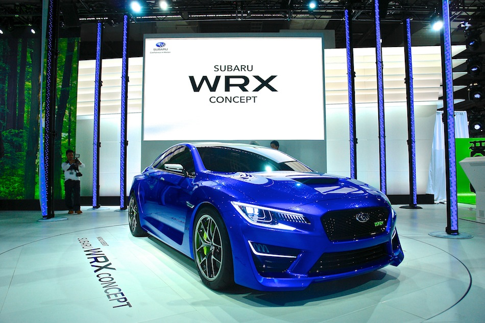 2013 Subaru WRX Concept NYIAS Front 3-4 Right