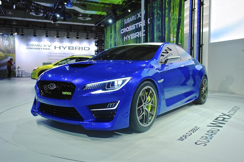 2013 Subaru WRX Concept NYIAS  egmCarTech