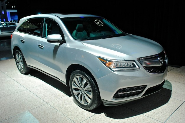 Acura prices 2014 MDX crossover starting at $42,290 with front-wheel drive