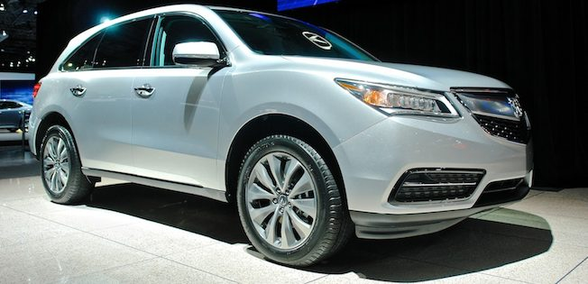 2014 Acura MDX NYIAS Banner