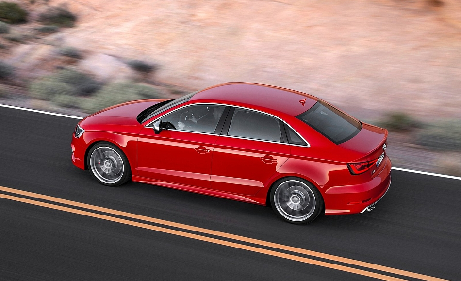 2014 Audi S3 Rear 7-8 Left Cruising